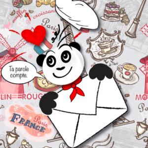Contact Petit Chef Panda | Livre recette enfant