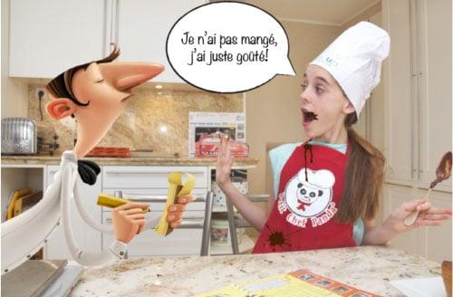 Petit Chef Panda | Livre cuisine enfant