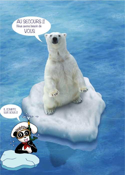 L Ours Polaire Appele L Ours Blanc Et Aussi Ursus Maritimus En