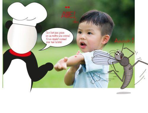 Attention aux guêpeset aux moustiques cet été